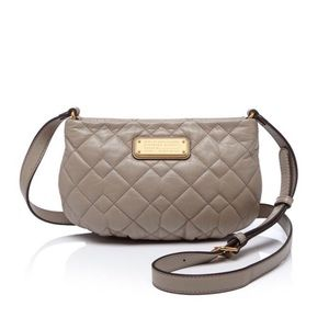🎁 Marc by Marc Jacobs Gray Q Quilted Percy Bag